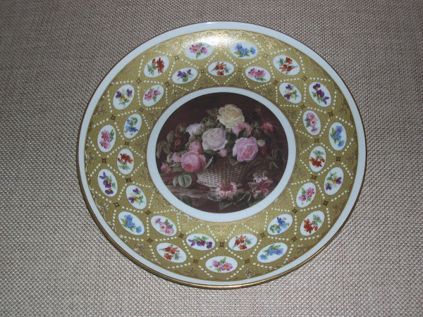 Secondo piatto francese porcellana LIMOGES