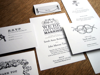 Free downloads for wedding invitations