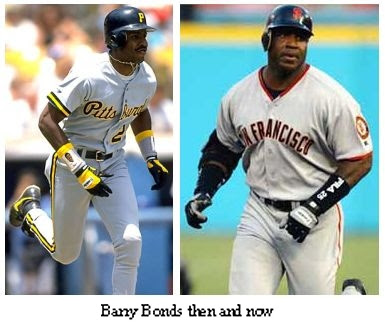 barry bonds head before and after. On August 7, 2007, Bonds hit