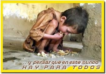 Por un mundo sin hambre