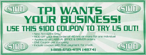 TPI Coupon!!