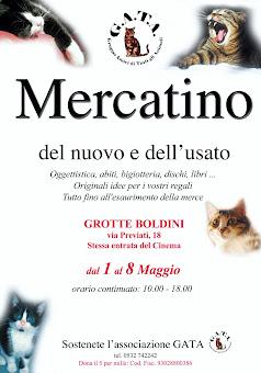 FERRARA, 1-8 MAGGIO: BELLISSIMO MERCATINO DELL'ASSOCIAZIONE G.A.T.A.