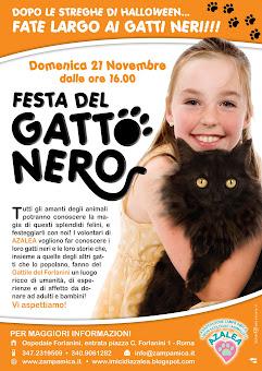 ROMA - 21 NOVEMBRE: FESTA DEL GATTO NERO