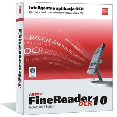 ABBYY FineReader Professional v. 10.0.102.109 PL + crack