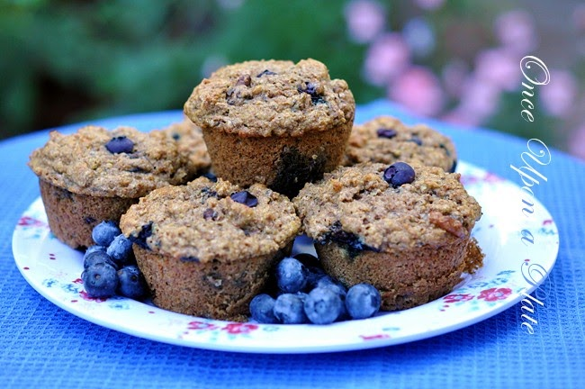 Low Fat Blueberry Streusel Coffee Cake