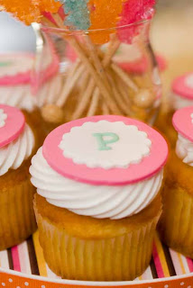 cupcake3 Parkers 1st Birthday Party { Pictures are Finally Here!!!}