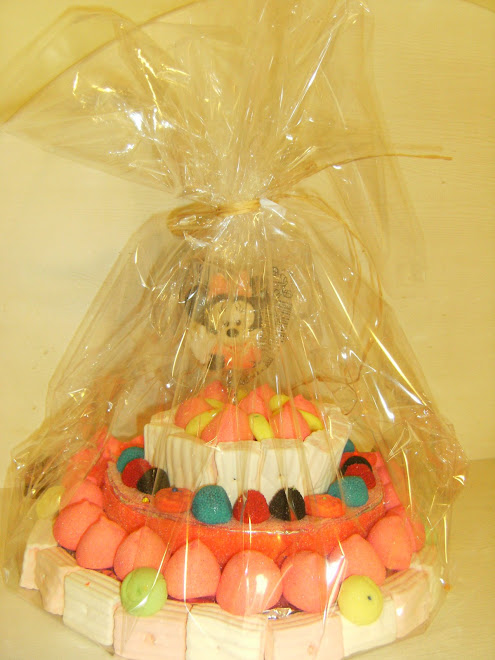 Tarta chuches Minnie
