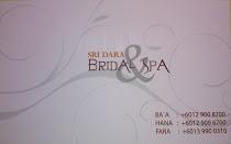 SRI DARA BRIDAL &SPA NO 5,TINGKAT 1,PUSAT NIAGA PAYA KELADI,JALAN KG DAIK,2000 KUALA TERENGGANU