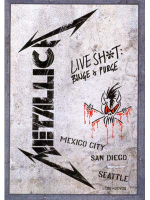 Metallica: DVD Live Shit: Binge & Purge (1993) - Download