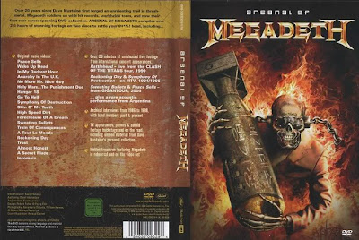 Arsenal Of Megadeth DVDRIP RMVB download megaupload video clipes videografia