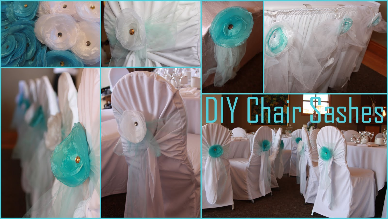 DIY - Chair Sashes. Blue Tulle Sashes & Sugar nu0027 Spice ~ Event Design u0026 Designer Sweet Tables: DIY - Chair ...