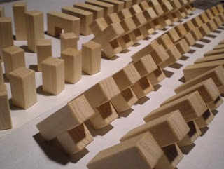 3-D Wooden Puzzle Cube Production