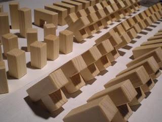 3-D Wooden Puzzle Cube Production
