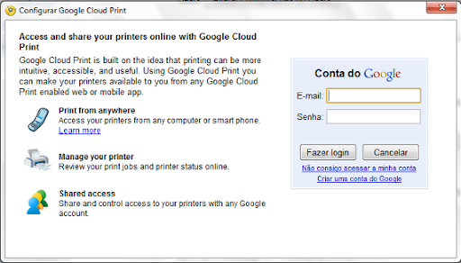 google cloud print 2