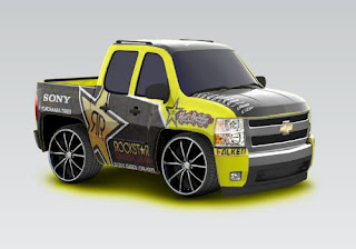 Car Town Customs 2007 Chevy Silverado Rockstar Energy