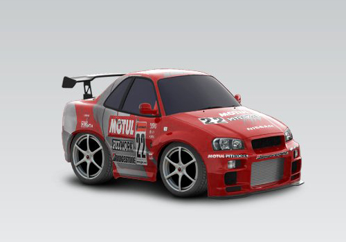 template skyline car town. Skyline Car Town Template