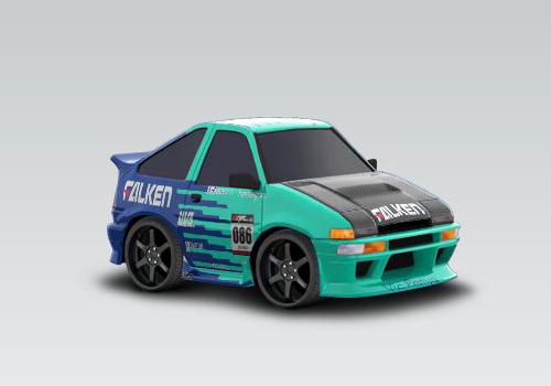 1986 Toyota Corolla - Falken