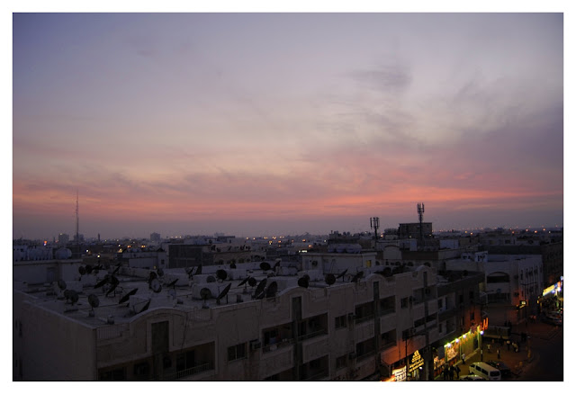 Evening Sky, Al-Jubail