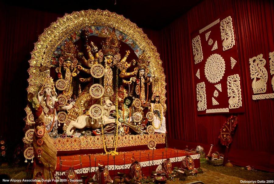 Vishwakarma Puja 2009 Durga Puja 2009 in Calcutta