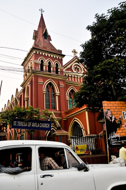 St. Teresa's church in Moulali, Central Calcutta
