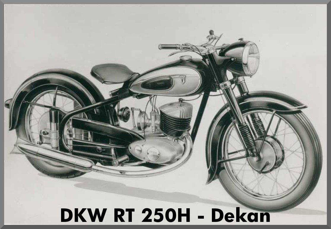 """DKW RT 250H - """"Dekan"""""""