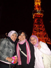 imma-san n friends in Tokyo Tower