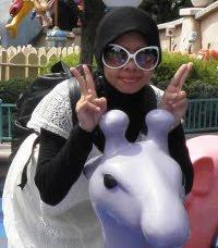 imma-san in DisneyLand, TOKYO