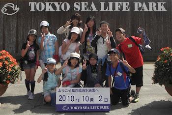 imma-san n friends in Tokyo Sea Life Park