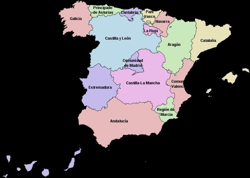 [Mapa+Comunidades+Autónomas+de+España]