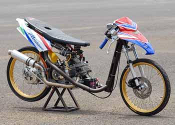 Yamaha Byson Drag Bike