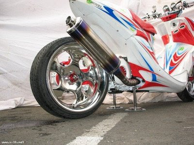 Foto Modifikasi Motor Mio Jet