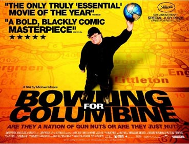 bowling for columbine wonderful world montage Bb's 'all-encompassing view of the world' was marxism  moore's bowling for  columbine: the ramones upbeat version of wonderful world  (in film)  montage.