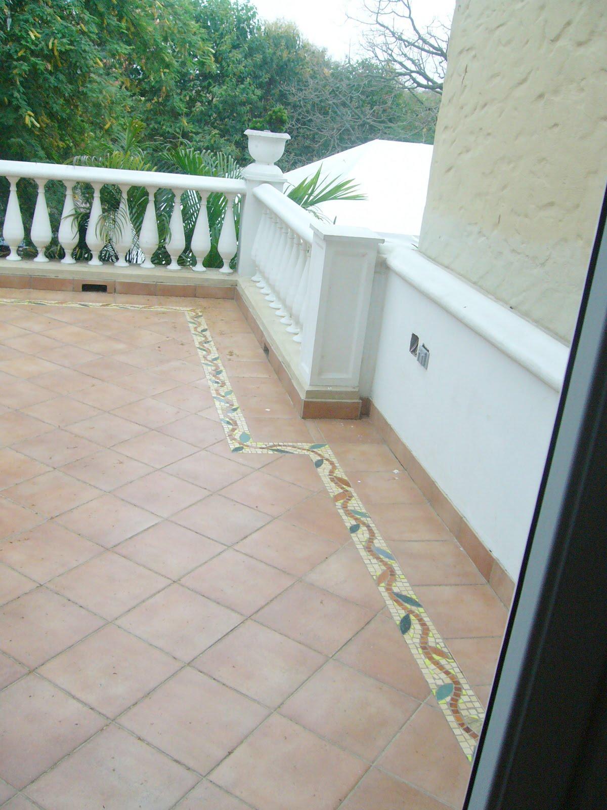 Mosaics by luis miranda cenefa para pisos ramas con hojas for Ofertas de ceramicas para piso