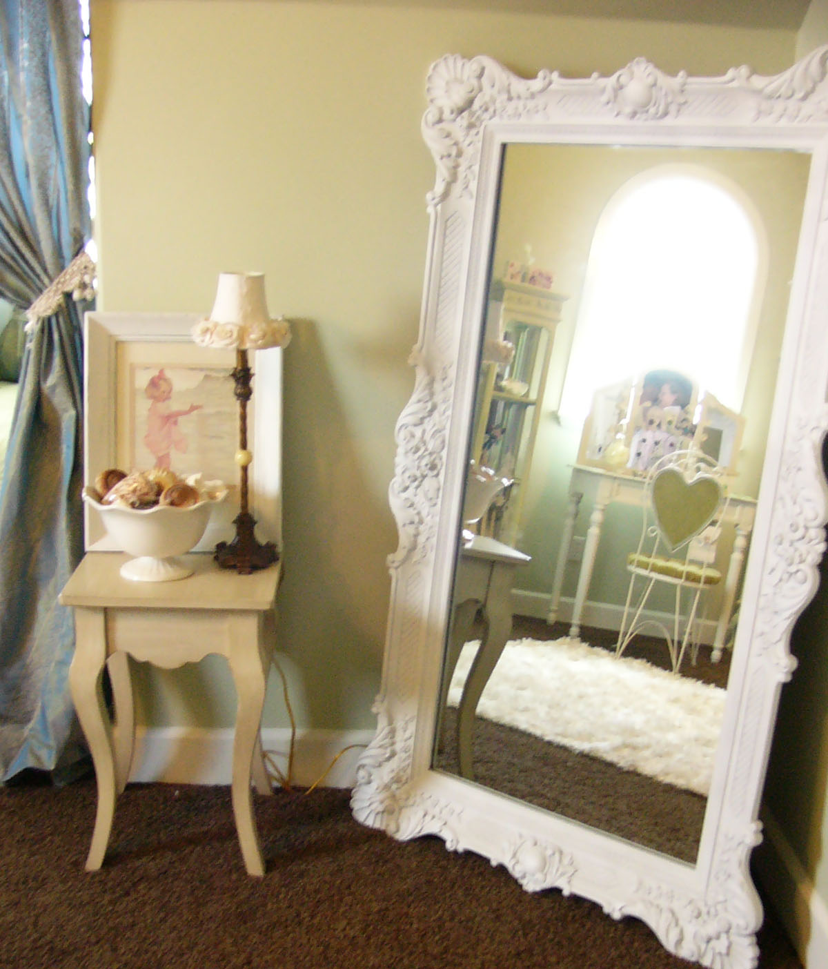 Beach gypsies mirror mirror on the wall for Large bedroom mirror