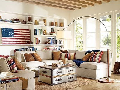 Site Blogspot  Decorate  Living Room on Decorating That Portray The Best Of The Old American Spirit