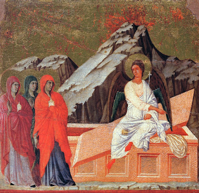 The Holy Women at the Sepulchre by Duccio