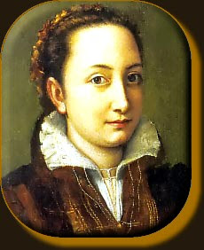 Anguissola as a Maid of Honour to the Queen of Spain