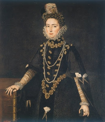 Portrait of Infanta Catalina Micaela, Duchess of Savoy, 1585 by Anguissola