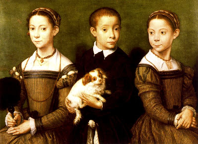 Sofonisba Anguissola. Portrait of Three Children