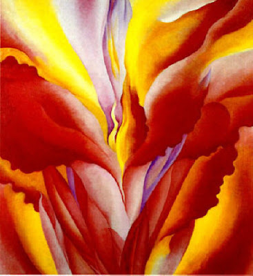 Georgia O'Keeffe Red Canna