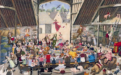 Paintings by British Artist Richard Adams
