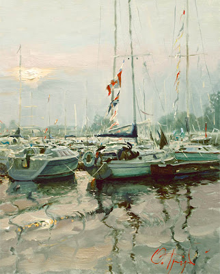 Russian Artist Oleg Trofimoff. Paintings