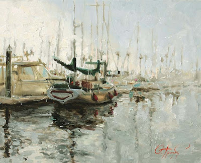 Yachts and Boats by Russian Artist