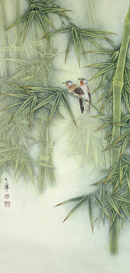 Paintings by Lou Dahua Chinese Artist