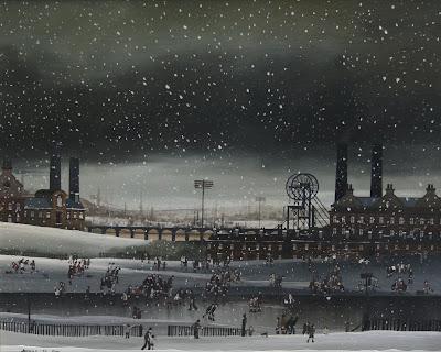 Winter Paintings by Braaq British Artist