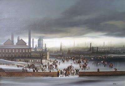 Winter Painting by Braaq British Artist