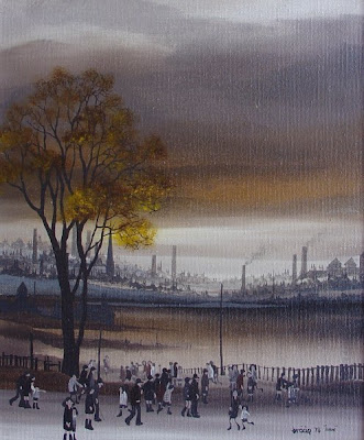 Braaq British Artist. Winter Painting