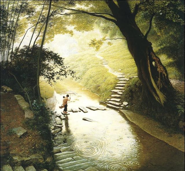 Painting by Chinese Artist Jian Chong Min