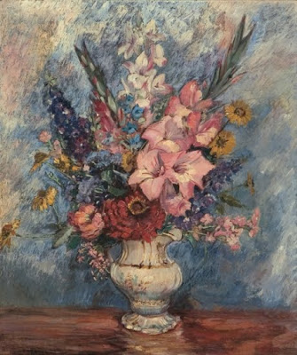 Still Life by Max Kuehne American Impressionist