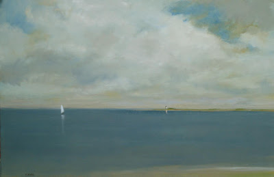 Seascape Painting by American Artist Anne Packard